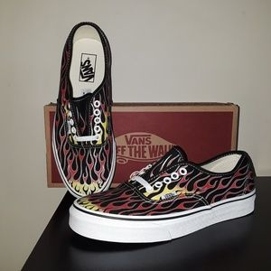 Vans Authentic Flames (Vans Mash Up)